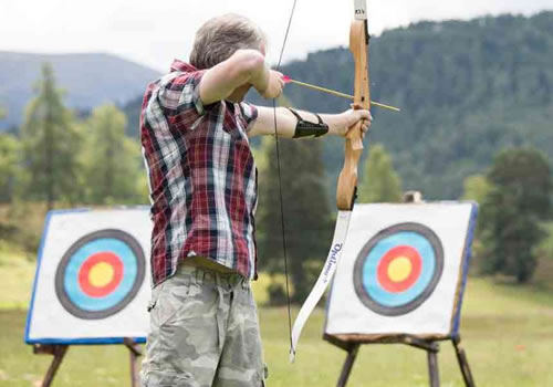 Archery and Clay Pigeon Shooting