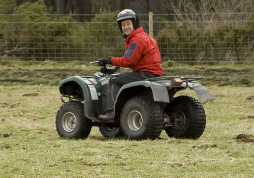 Quad Biking and 4x4 Off Road Driving